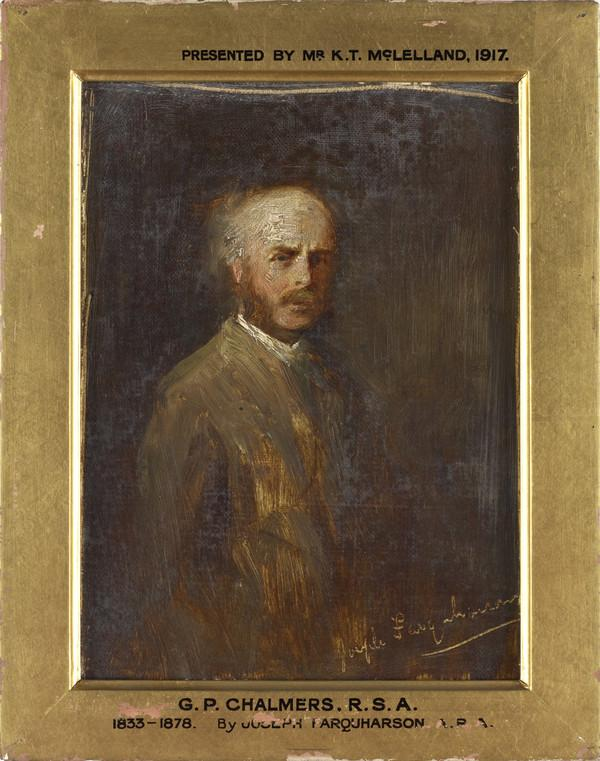 George Paul Chalmers, 1836 - 1878. Artist (About 1875)