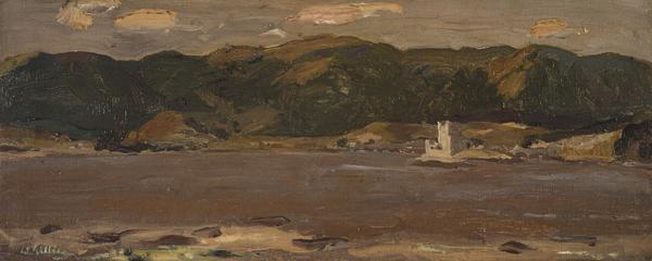 Eilean Donan Castle, Loch Duich (About 1947)