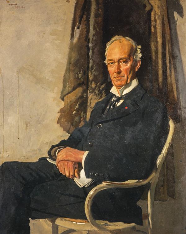 George Allardice, 1st Baron Riddell of Walton Heath, 1865 - 1934. Newspaper prorietor and diarist (1919)