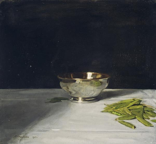 The Lustre Bowl with Green Peas (1911)