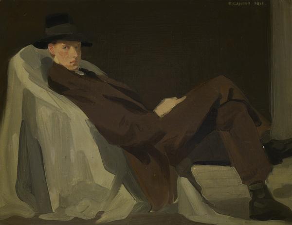 Sir William Oliphant Hutchison, 1889 - 1970. Artist (1911)