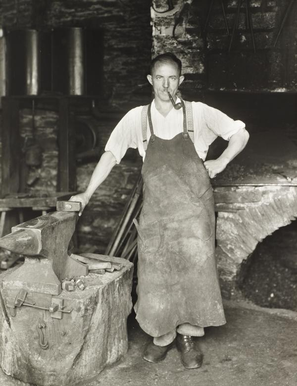 Blacksmith, about 1930 (about 1930)