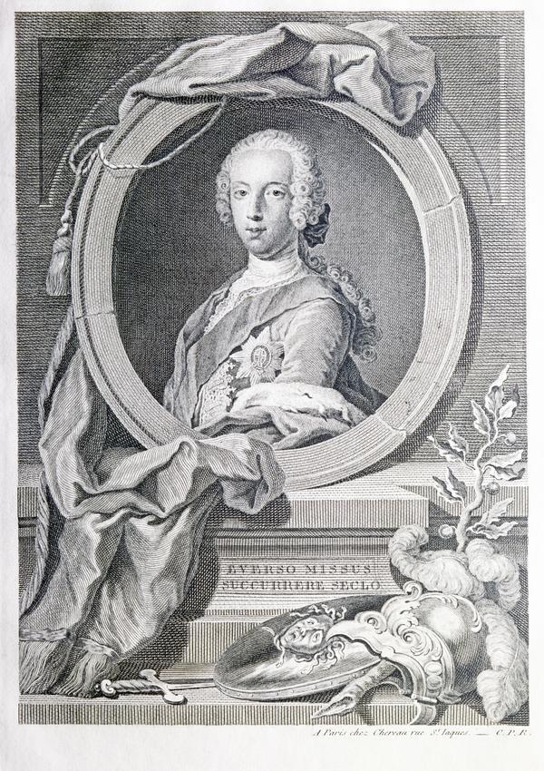 Prince Charles Edward Stuart, 1720 - 1788. Eldest son of Prince James Francis Edward Stuart (1745)