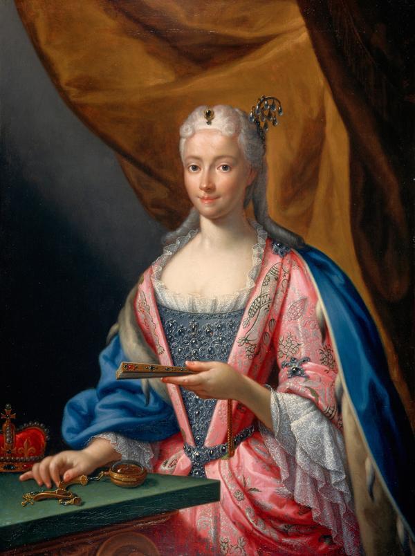 Princess Maria Clementina Sobieska, 1702 - 1735. Wife of Prince James Francis Edward Stuart (1719)