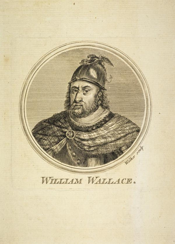 Sir William Wallace, c 1272 - 1305. Scottish patriot (Published 1757)