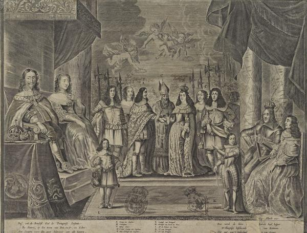 Charles II (1630-1685) The Marriage of Charles II to Catherine of Braganza (after 1662)