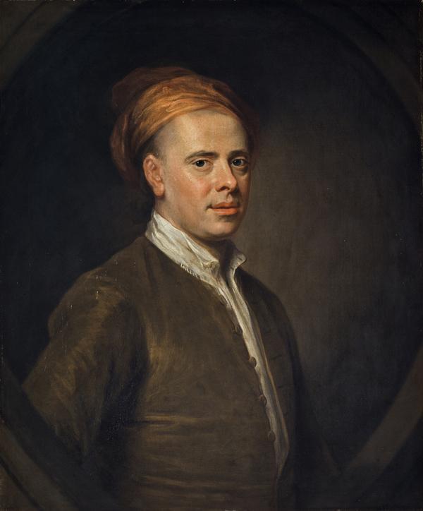 Allan Ramsay, 1684 - 1758. Poet (1722)
