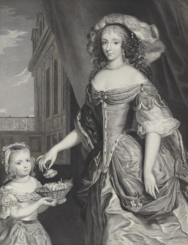 Henrietta Anne, Duchess of Orleans, 1644 - 1670. With Mary Charlotte Bond (About 1841 - 1853)
