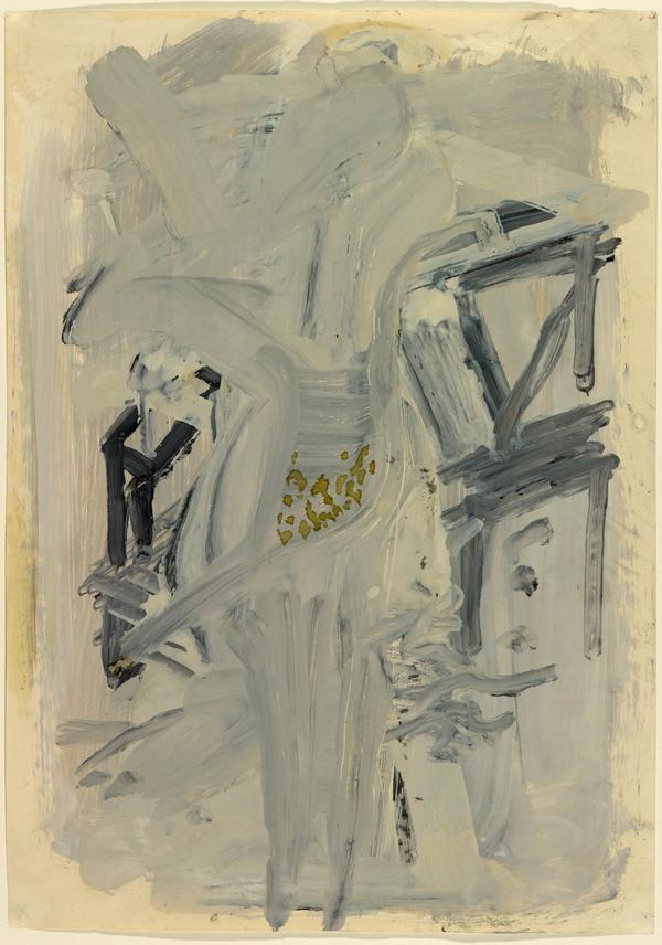 Untitled (Frauendarstellung) (1958)