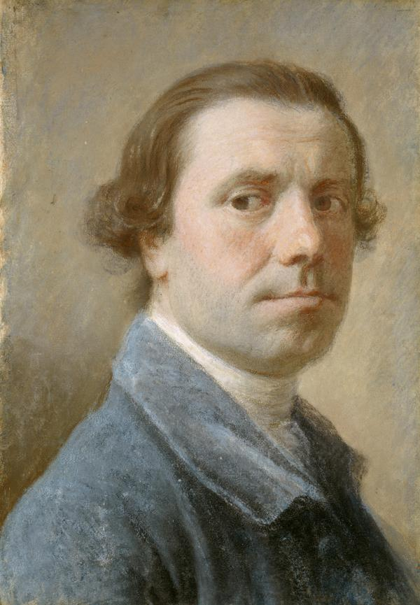 Allan Ramsay, 1713 - 1784. Artist (Self-portrait)