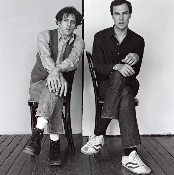 Philip Glass and Robert Wilson (1976)