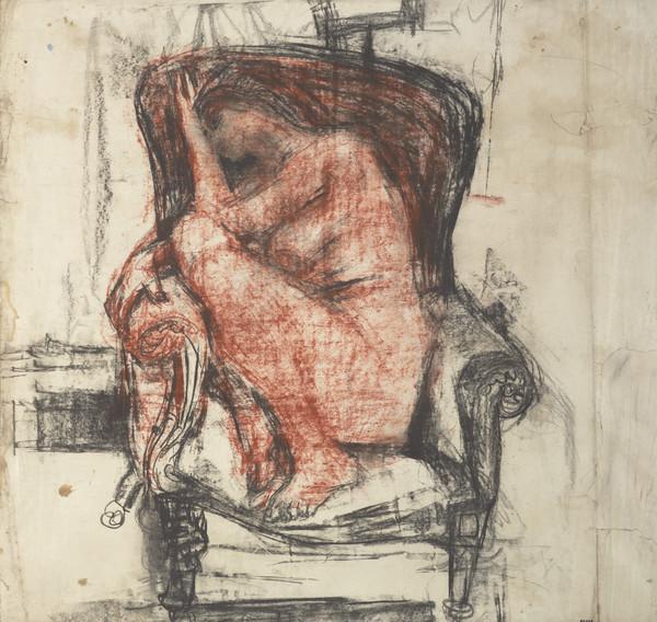 Female Nude in an Armchair