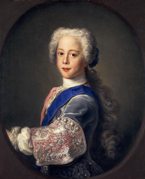Prince Henry Benedict Clement Stuart, 1725 - 1807. Cardinal York; younger brother of Prince Charles Edward (1732)