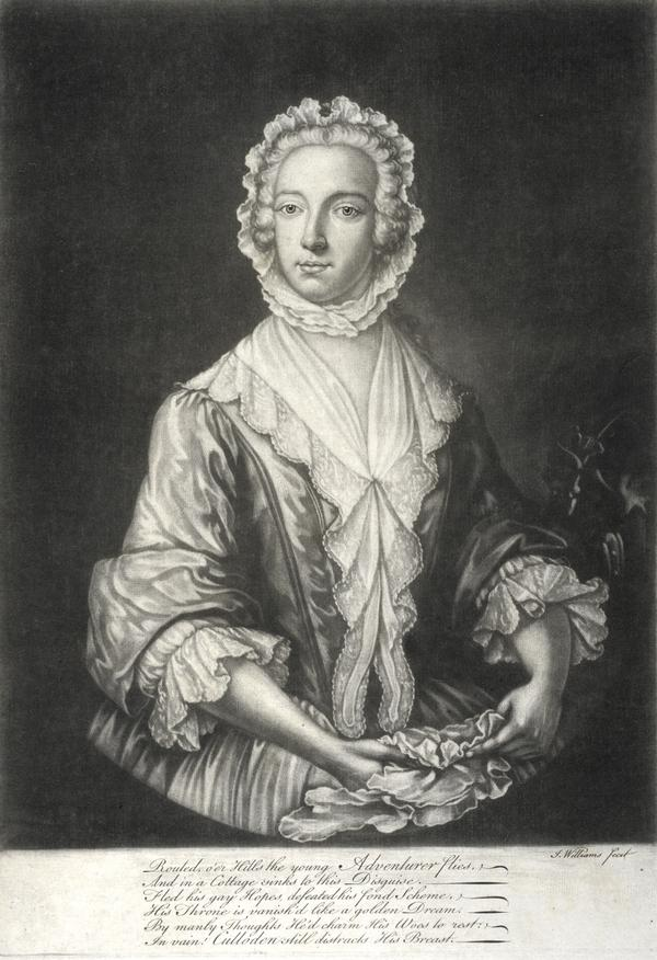 Prince Charles Edward Stewart, 1720 - 1788. Eldest son of Prince James Francis Edward Stewart (About 1746)