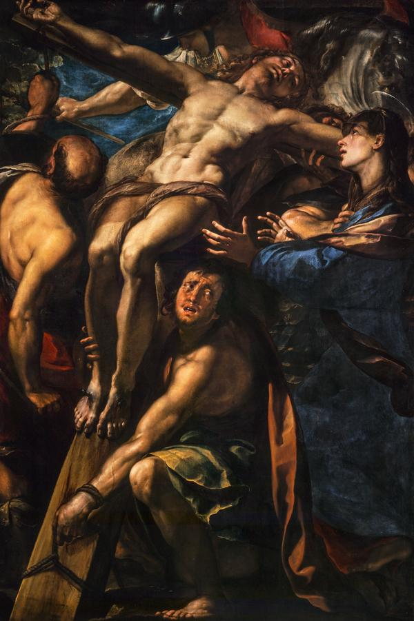 The Raising of the Cross (About 1615 - 1620)