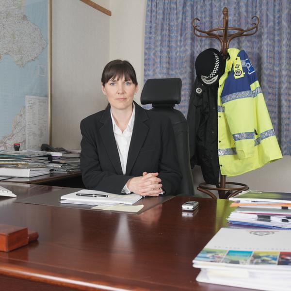 Chief Constable Norma Graham, Fife Constabulary (2006)