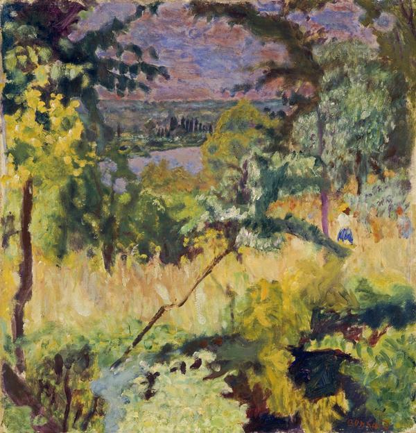 Échappee sur la rivière, Vernon [View of the River, Vernon] (1923)