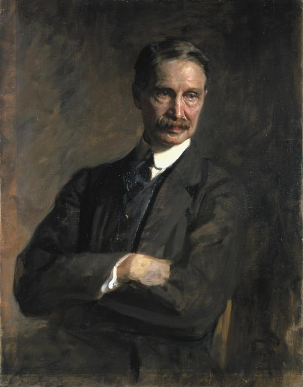 Andrew Bonar Law, 1858 - 1923. Statesman (study for portrait in Statesmen of World War I, 1914 - 1918, in the National Portrait Gallery, London) (About 1924)