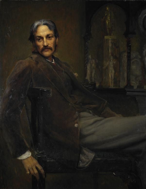 Andrew Lang, 1844 - 1912. Poet and writer (1885)