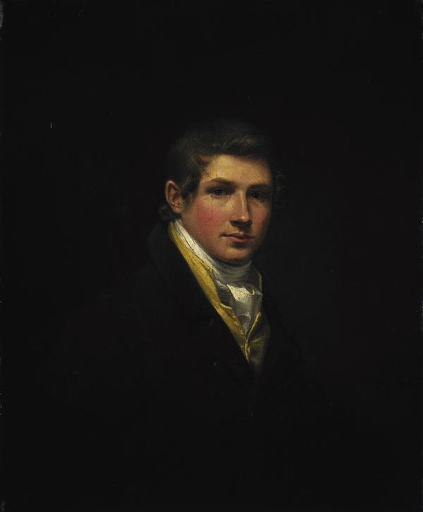 William Yellowlees, 1796 - 1855. Artist (Self-portrait) (1814)