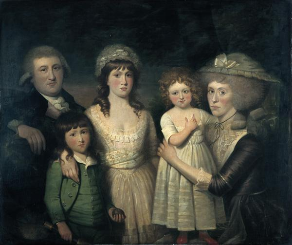 James Boswell and his family (About 1786)