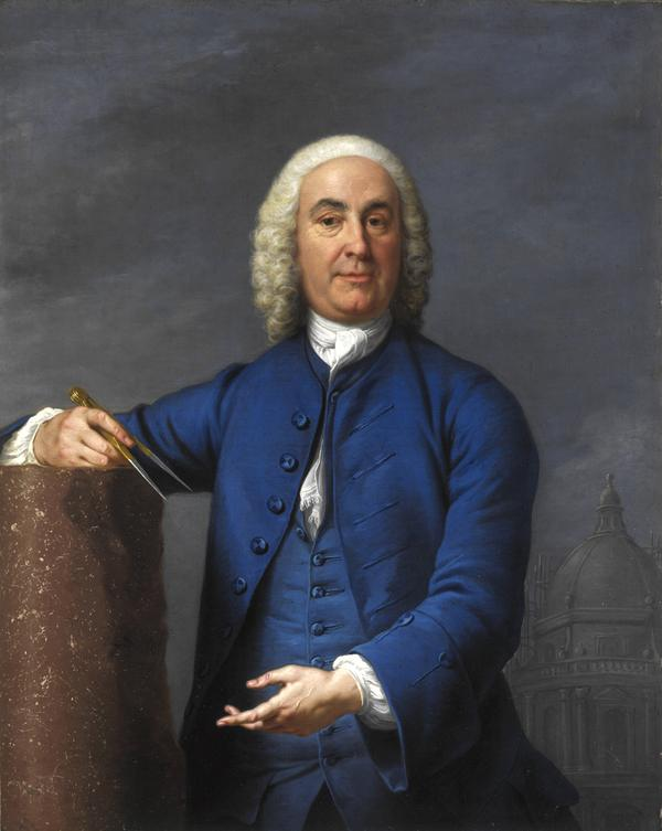 James Gibbs, 1682 - 1754. Architect (About 1750)