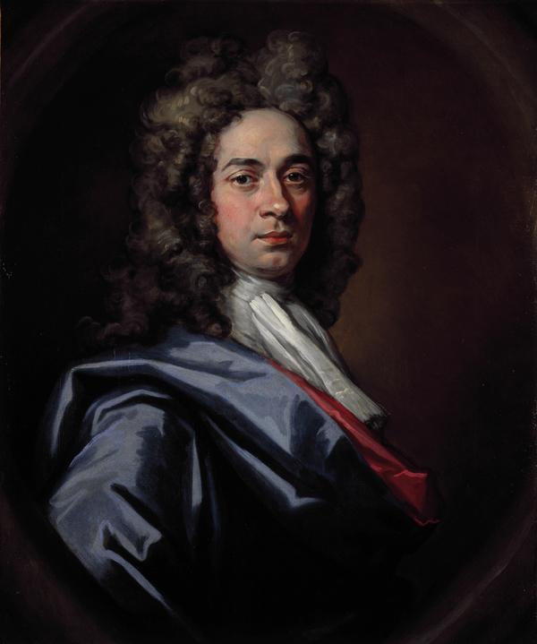 Sir John Baptiste de Medina, 1659 - 1710. Portrait painter (Self-portrait) (About 1698)
