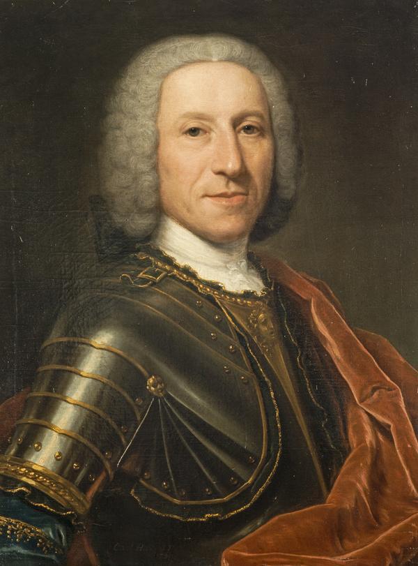Captain William Hay of Edington, 1706 - 1760. Adherent of the Stuarts (Dated 1739)