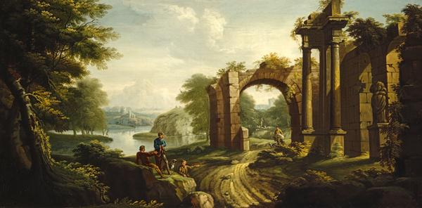 Classical Landscape with Architecture (1736)