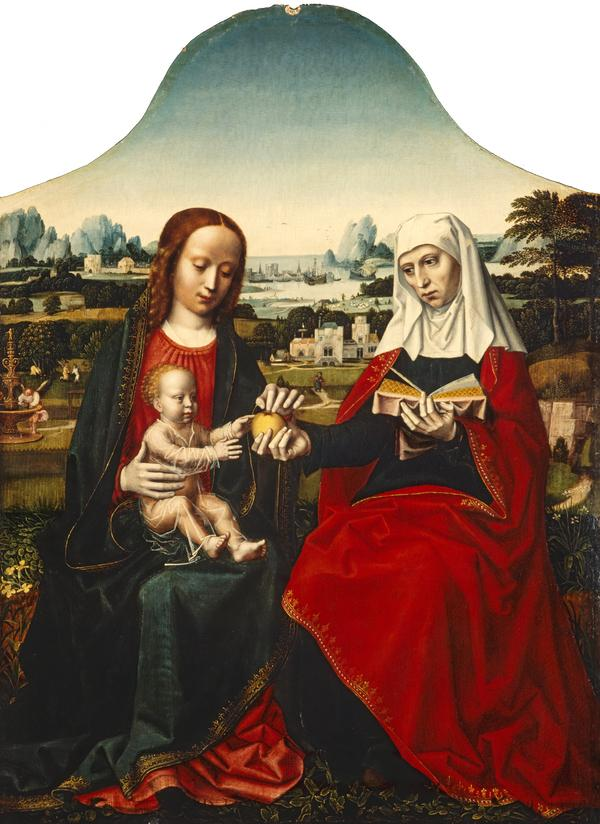 The Virgin and Child with Saint Anne (1625 - 1630)