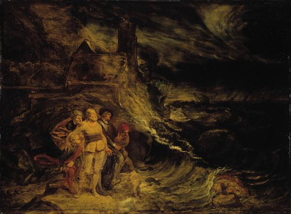 King Lear in the Storm (1767)