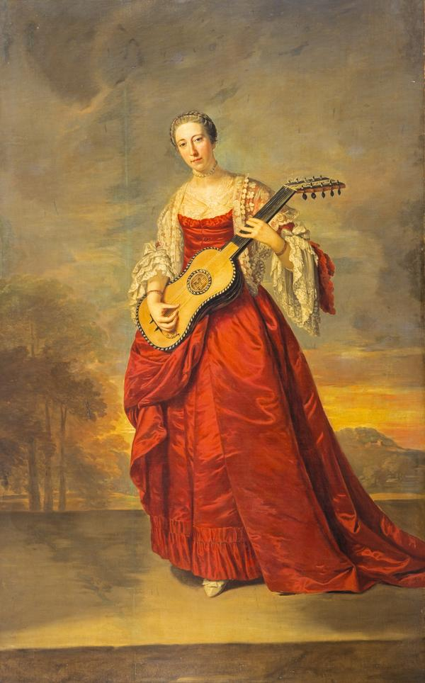Caroline D'Arcy, 4th Marchioness of Lothian (died 1778) (About 1750)