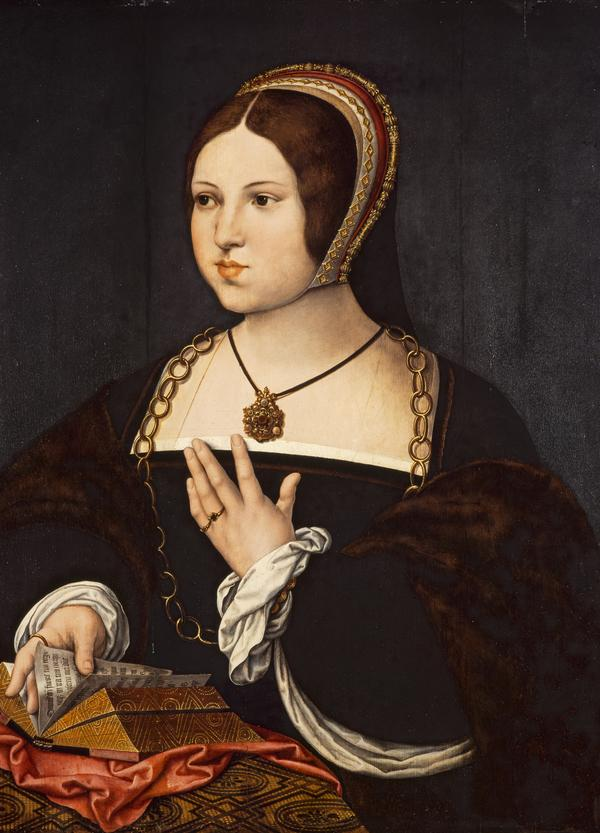 Marie Haneton (About 1518 - 1519)