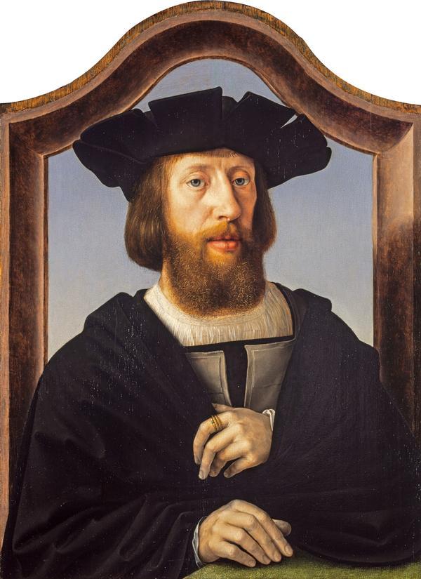 Portrait of a Man (About 1520 - 1525)
