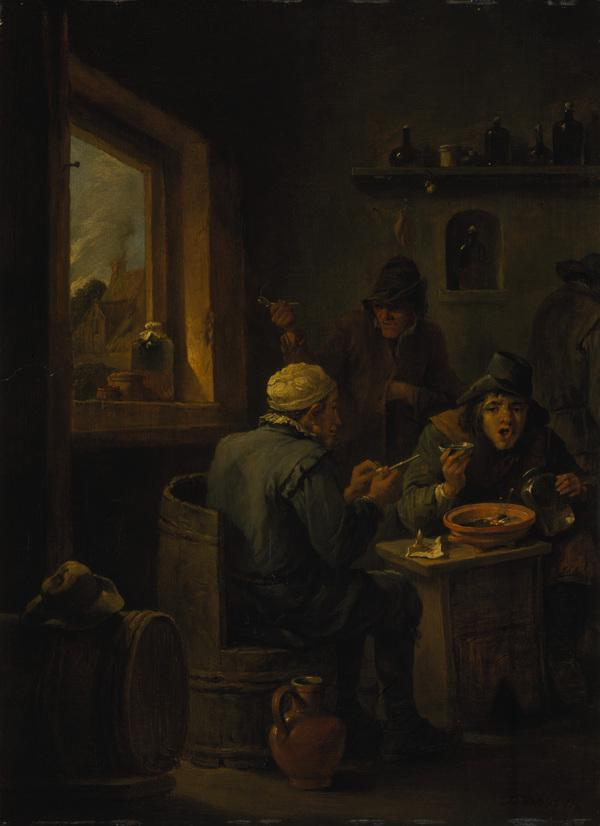 Boors Drinking (1635 - 1640)