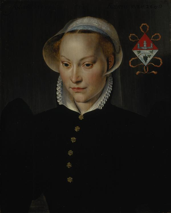 A Married Lady of Bruges, aged 26 (Dated 1565)