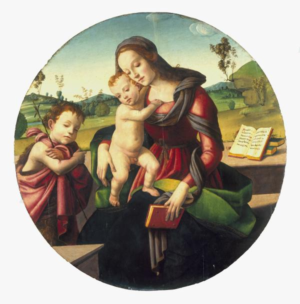 The Virgin and Child with the Infant Saint John the Baptist (About 1500)