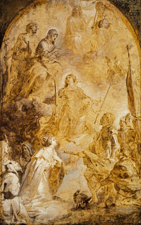 The Ascension of Saint Catherine of Alexandria (About 1641)