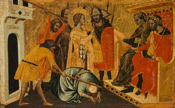 A Martyrdom (About 1350)