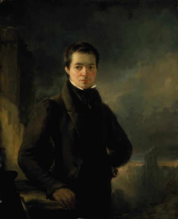 George Meikle Kemp, 1795 - 1844. Architect and designer of the Sir Walter Scott Monument (About 1840)