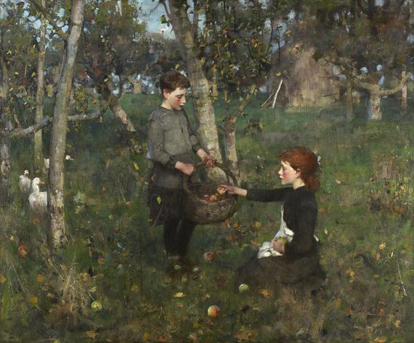 In the Orchard (1886)