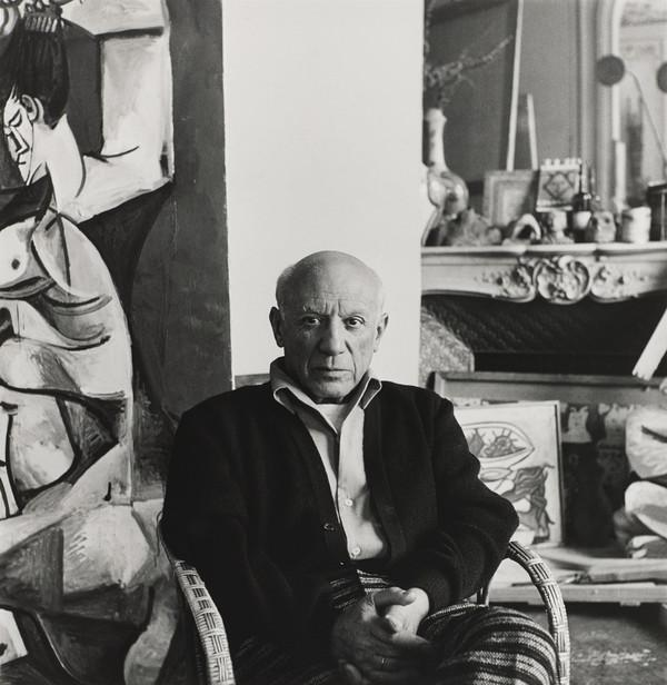 Portrait of Picasso, Cannes (1958)