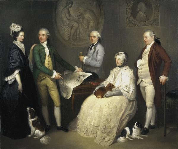 James Byres of Tonley and members of his family (About 1780)