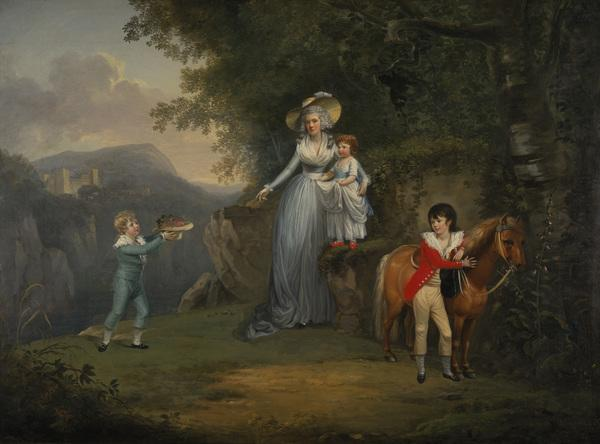 Lady Honyman and her Family (About 1790)