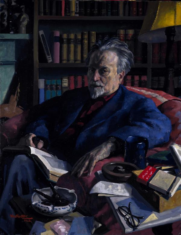 Sir Compton Mackenzie, 1883 - 1972. Author (1962)
