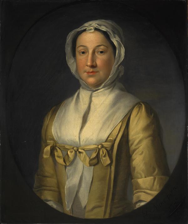 Anne Smith, Mrs Thomas Ruddiman, fl. 1729 - 1769. Third wife of Thomas Ruddiman (1749)
