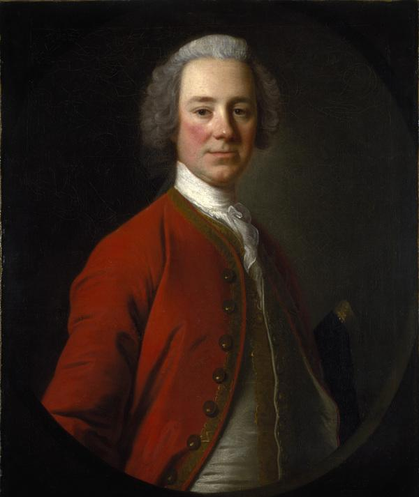 John Campbell, 4th Earl of Loudoun, 1705 - 1782. Soldier (About 1747)