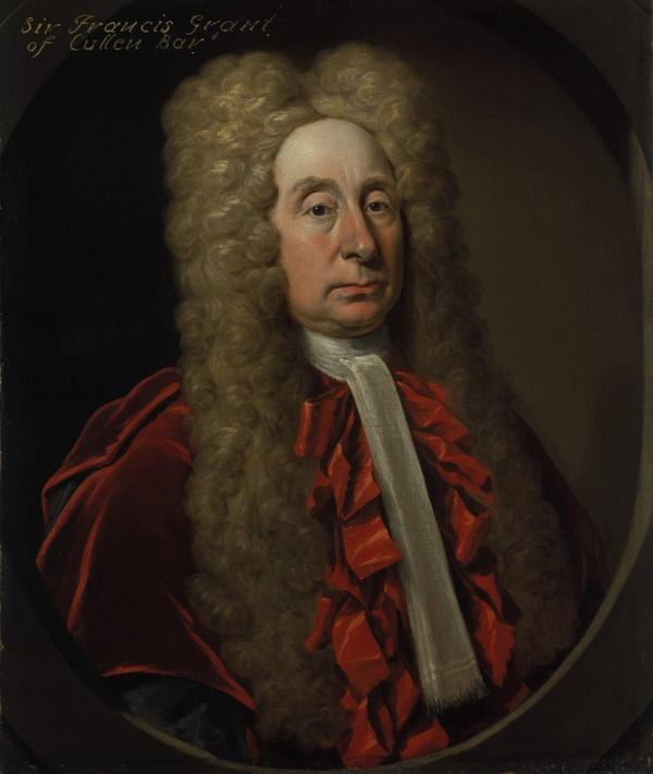 Sir Francis Grant, Lord Cullen, 1658 - 1726. Judge (About 1720)