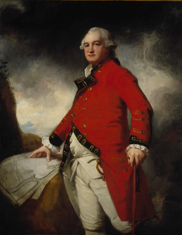 Major-General James Stuart, about 1735 - 1793. Commander-in-Chief in Madras (1786 / 1787)