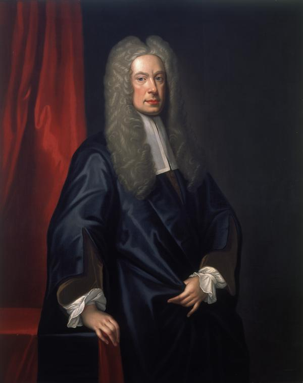 Sir John Clerk of Penicuik, 1676 - 1755. Judge of the Exchequer Court in Scotland (About 1725)